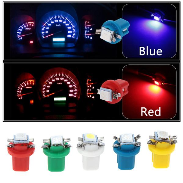 10 Pcs B8.5D 509 T B8.5 5050 Levou 1 SMD T5 Lâmpada Car Calibre Speed Dash Dashboard instrumento Instrumento Luz Cunha Lâmpada Interior