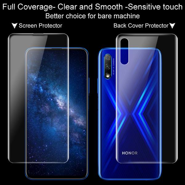 Imak Hydrogel III 3 Film Für Huawei Honor 9X Pro Displayschutzfolie 2 STÜCKE Full Coverage Soft Hinten Vorne Hinten Schutzfolie