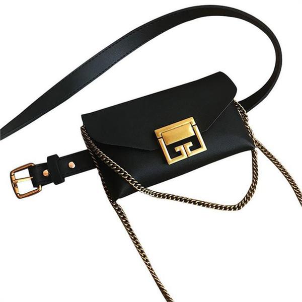 Cuoio Marsupio Cintura donna Borsa Serpentine PU torace Borse Snake Stampa Telefono pacchetto pacchetto di Fanny Heuptas Girl Fashion Crossbody