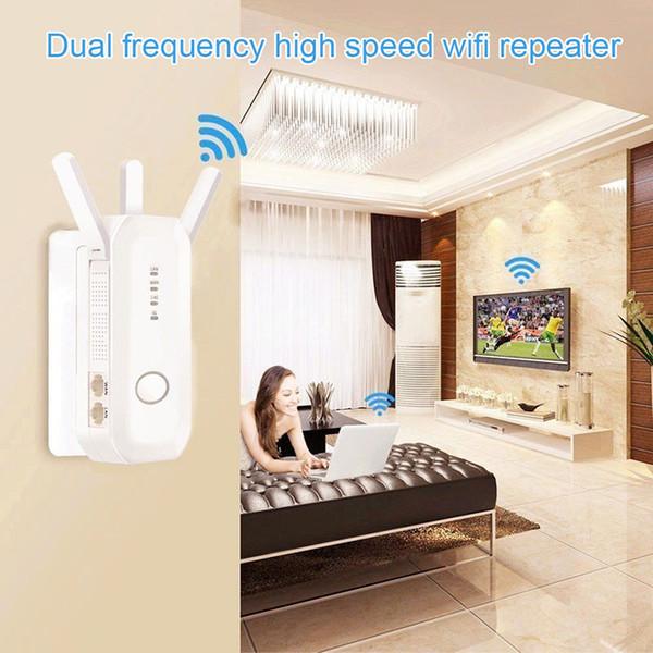 Roteador Wifi Extensor Sem Fio Dual Band 750 M de Alta Velocidade 802.11ac DJA99
