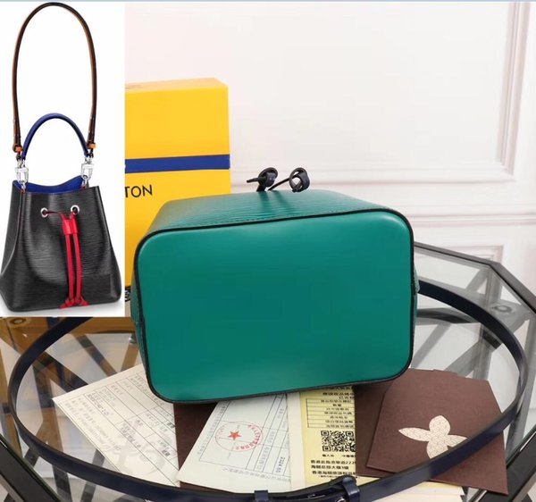 NEONOE shoulder bags Noé leather bucket bag women famous brands designer Fashion handbags crossbody TWIST drop shipping Hobo Totes 2019