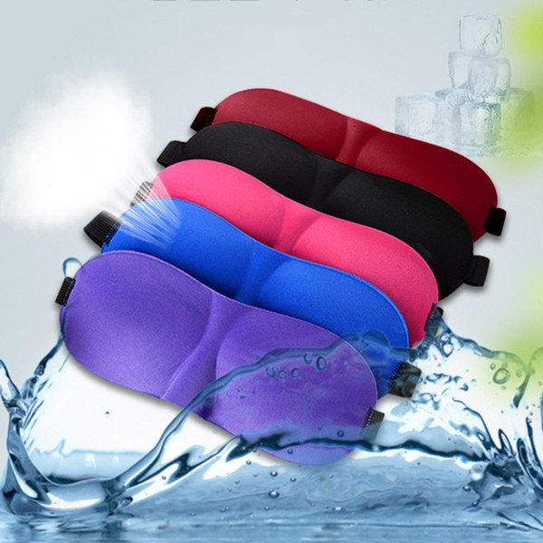 6c795421c 3D Sleep Mask Padded Shade Cover Travel Relax Blindfolds Eye Cover Sleeping  Mask Eye Care Beauty
