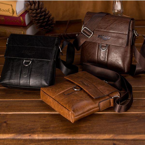 Мужская модная деловая сумка Сумка двойного назначения и сумка через плечо Tote Flap Bag Грудь Crossbody сумка Bolsas