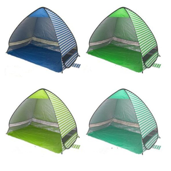 Outdoor Quick Automatic Opening Tents Portable Pop Up Beach Tent Outdoor Tent Camping Fishing Tents For 2-3 Person CTS001
