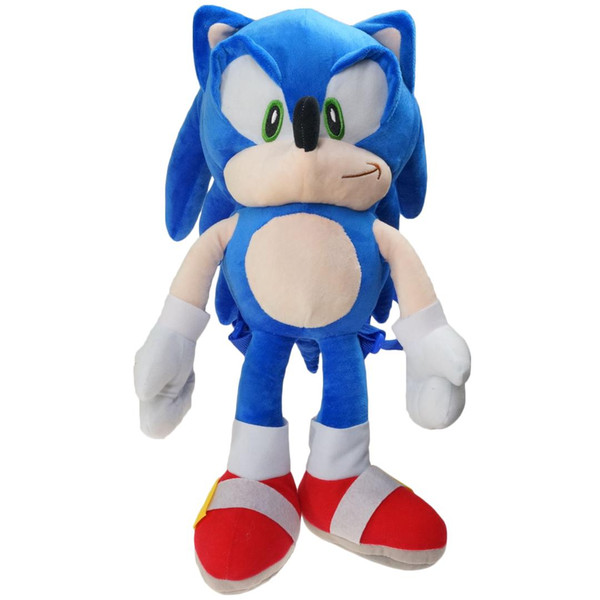 best selling Game Sonic Plush Backpacks the hedgehog Movies & TV Toys