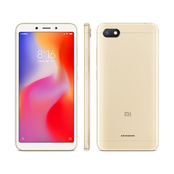 """3GB 32GB Redmi 6A 4G LTE Quad Core Helio A22 MIUI Global 10.0 5.45"""" 18:9 Full Screen HD+ AI Face Unlock GPS 13.0MP Camera 3000mAh Smartphone"""