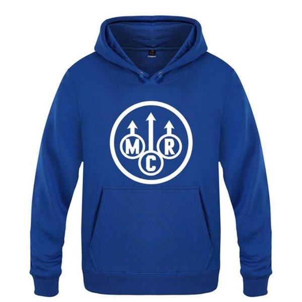 blauer Hoodie 14