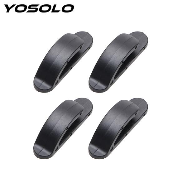 YOSOLO 4Pcs / set clips de plástico Fechos Auto Hanger Car Holder Gancho Grampo Car-styling para Bag Chaves Bolsa Grocery Car Organizer
