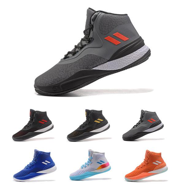 2018 Nuovo arrivo D Rose 8 Baketball Scarpe uomo Stivali di alta qualità 8s IX Sneakers Derrick Rose Sport Training Sneakers Taglia 40-46