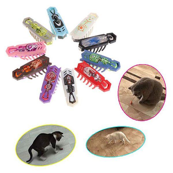 10 Unids Hexbug Electronic Pet Educativo Insecto Robótico Para Bebé Juguetes Interactivos Hexagonales Bug Gusano Lucha Insectos Reptiles Q190523