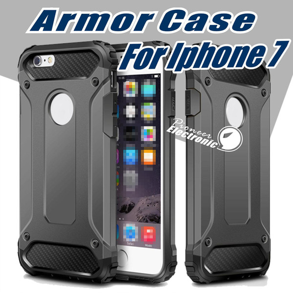 best selling For iPhone 12 mini 11 pro XR XS MAX Samsung S20 s10 Case cover Armor Hybrid Superior Hard PC And Pliable Rubber Drop Resistance Defend Case