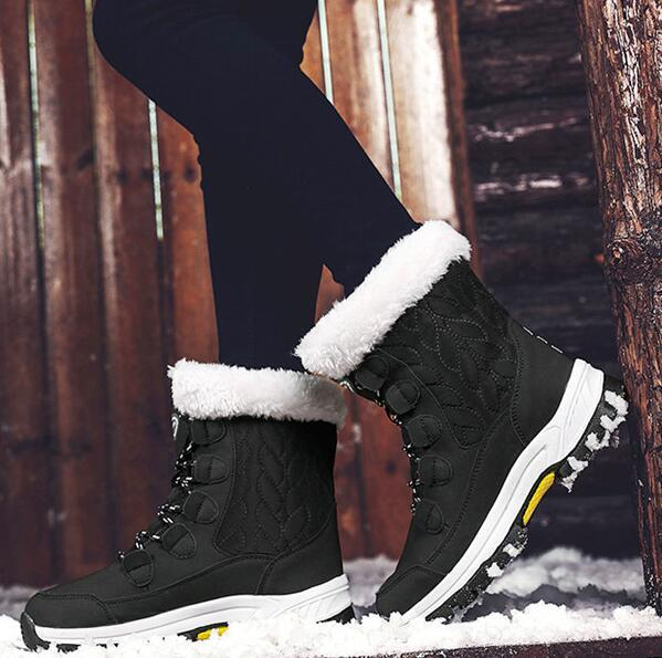 Australia 2019 winter WGG new luxury thick non-slip warm snow boots high to help cotton shoes Martin boots children free transport