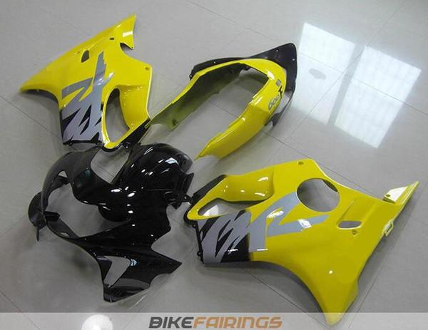 New Injection mold ABS Fairings Set for HONDA CBR600F4 99-00 CBR 600 F4 FS CBR600FS CBR 600F4 F4 99 00 1999 2000 Cool style yellow black UK