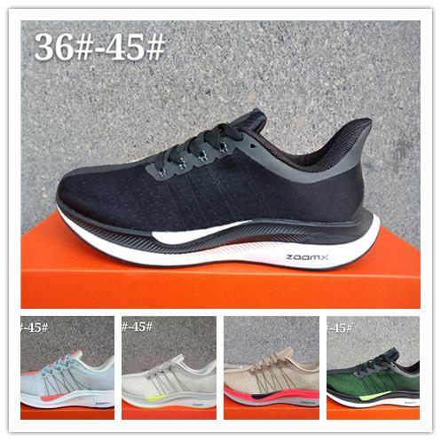 3b0cde4c18611 Zoom Pegasus 35 Turbo Mens Women Sports Running Shoes racer Bred Originals  Pegasus 35 run utility trainers huarache sneakers designer shoes