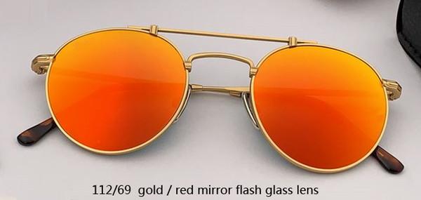 112/69 flash dorado / rojo espejo