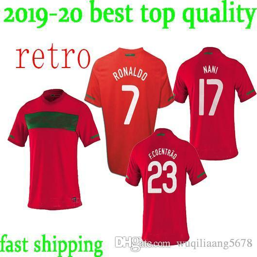 the best attitude 42b28 8c476 2019 10 11 Portugal Home Retro Soccer Jersey 2010 2011 Portugal South  Africa World Cup Jersey RONALDO NANI S XXL Retro Football Shirts From ...