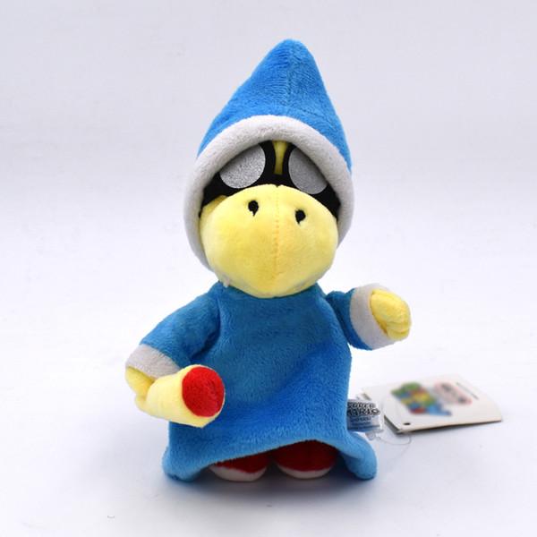 Super Mario Bros Magikoopa Kamek Plush Toys 18cm Kids Collectible Soft Stuffed Toy Cartoon Game Dolls Toys for Children