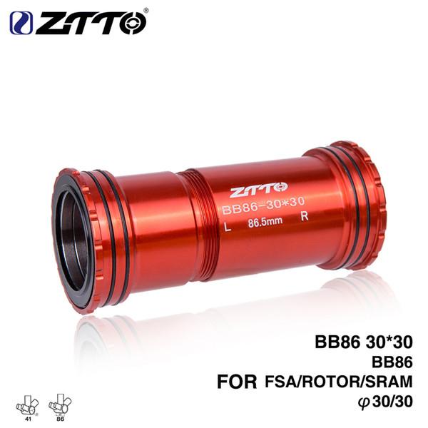 ZTTO BB86 30 Press Fit External Bearing Bottom Brackets 4 Bearings for Road mountain bike 30mm Crankset BB Rotor crankset
