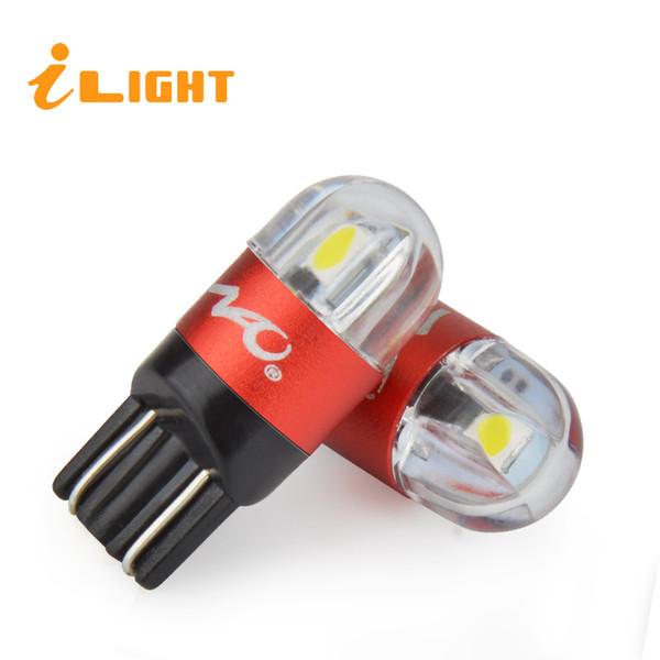 ILight W5W T10 LED Araba Işıkları Araba İç Aydınlatma W5W LED Park Işıkları T10 Dönüş Sinyali Lamba Gümrükleme 3030 300LM