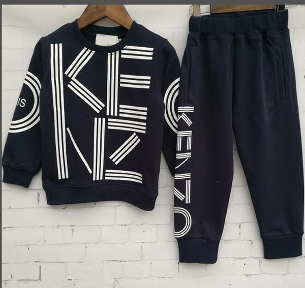 Jungen und Mädchen-Designer-T-Shirts und Shorts Anzug Marke Tracksuits 2 Kinderkleidung Set Hot Sell Fashion Sommer-Kinder