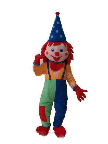2019 High quality Happy Dramatic The Japanese Clown Mascot Costume Fancy Birthday Party Dress Halloween Carnivals Costumes