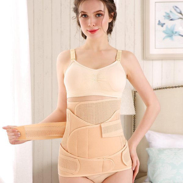 Postpartum Abdominal Band Waist Belt Recovery Belly Women Slim 3Pcs Per Set Universal Flexible 29 5wd F1
