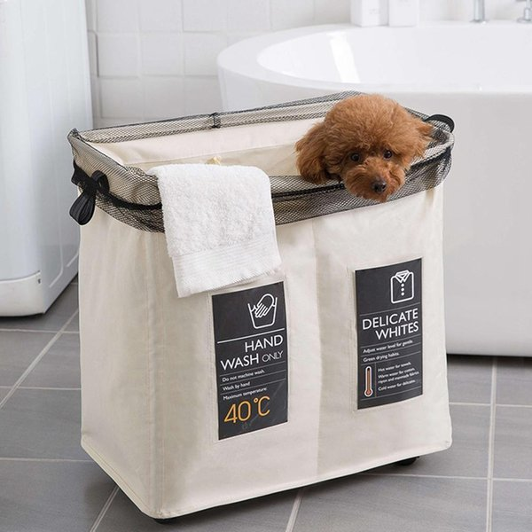 best selling Durable Laundry Sorter Hamper Clothes Storage Basket Bin Organizer Washing Bag