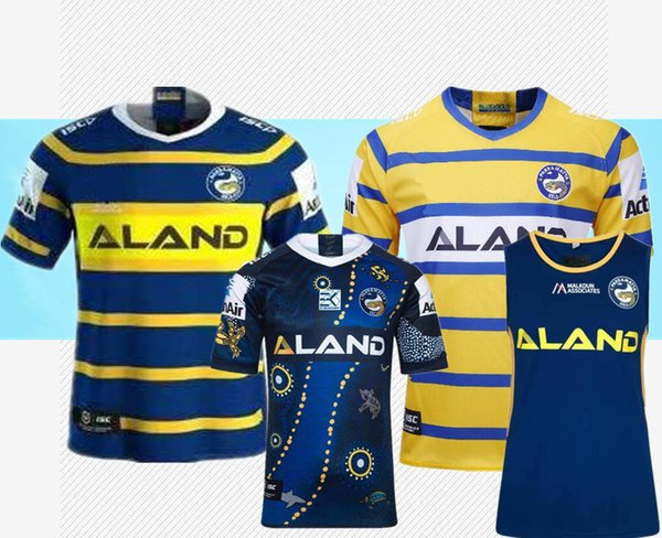 best selling 2019 RUGBY JERSEY PARRAMATTA EELS 2019 HOME JERSEY National Rugby League rugby shirt jersey size S - 3XL