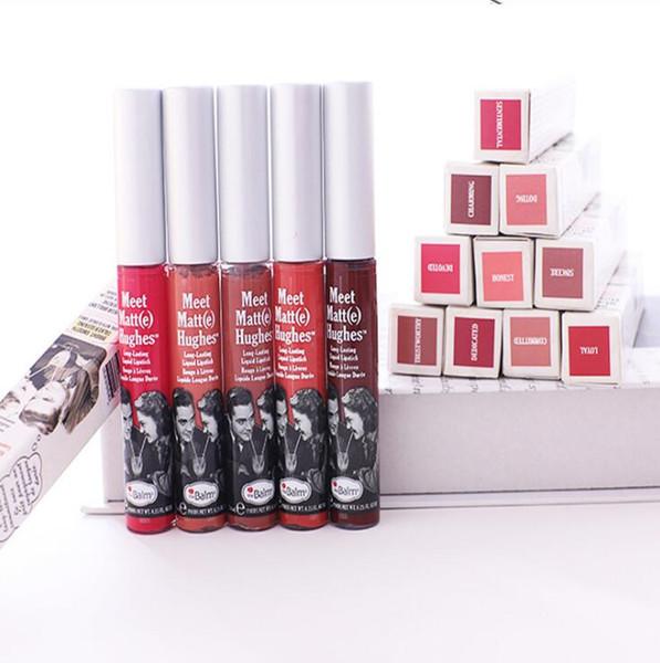 Top sale high quality moist The Balm ultra 25colors matte velvety lip gloss waterproof long lasting liquid lipstick