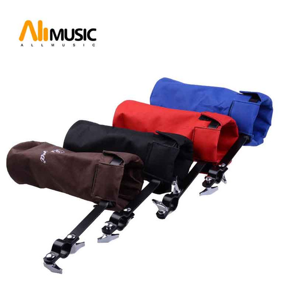 best selling Multi Color Drum Stick Holders with Adjustable Solid Metal Hoop Mounting Drumsticks Bag Case