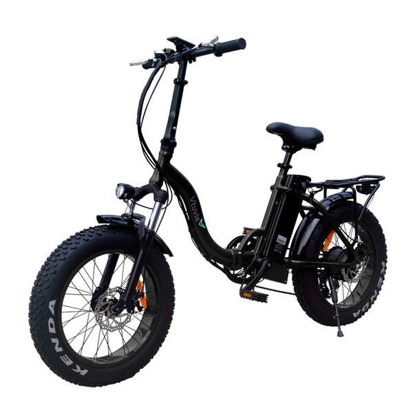 best selling Free shipping 20 inch Aluminium alloy Folding Fat tire 4.0'' Ebike 48V 12Ah Lithium Battery Electric Bike step-through E bicycle