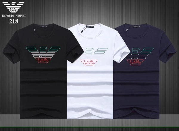 2019Fashion tee shirt Designer T Shirt Hip Hop White Mens Clothing Casual T Shirts For Men With Letters Printed TShirt Size M-3XL#29