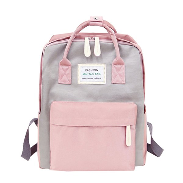 Nylon Waterproof Women Backpack Fashion Youth Korean Style Rucksack Laptop Backpack Schoolbags For Teenage Girls Boys Travel Bag Y19051405