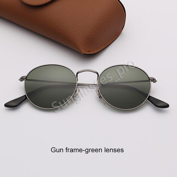 Пистолет каркасно-зеленые линзы