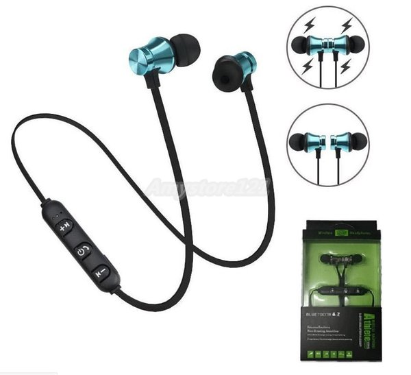 XT11 Magnet Sport Headphones BT4.2 Wireless Stereo Earphones with Mic Earbuds Bass Headset for iPhone Samsung LG smartphones