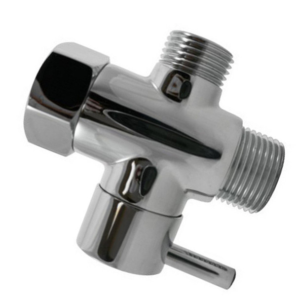 Hose T Shape Adapter Connector for Angle Valve Toilet Bidet Sprayer Faucet Shower holder nozzle T-type water separator A1