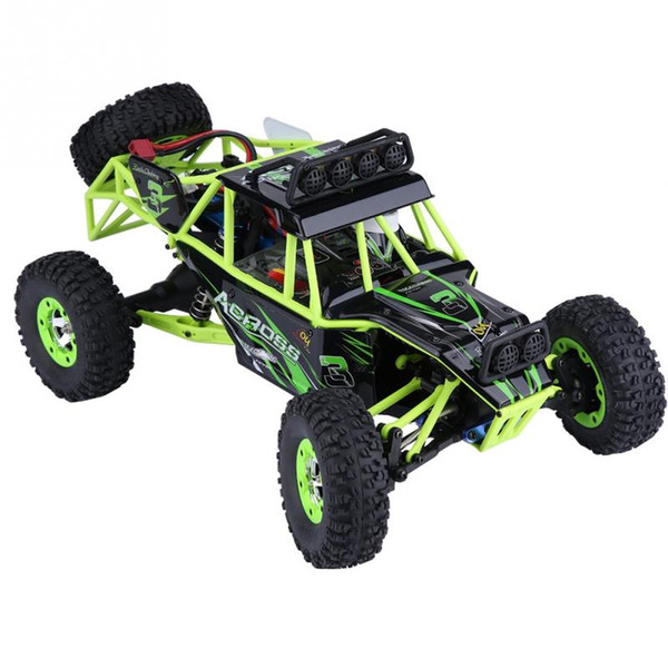 2.4GHz 50km/h High Speed 50km/h Racing Car 1:12 Scale Electric Car RC Crawler Car Toy Remote Control with US Plug LED Lights