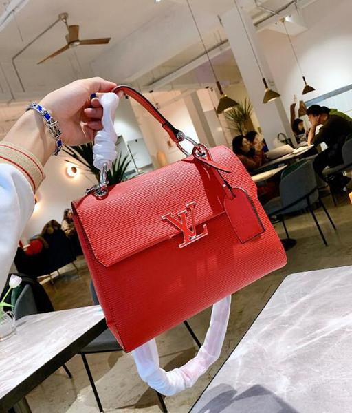 2019 New Woman Mode Lettres Sacs à main de luxe Qualité Lady Sacs à bandoulière de Crossbody Hot Messenger Bag Livraison gratuite
