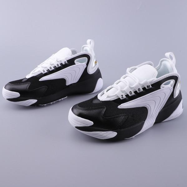 Großhandel Nike Air Max Zoom Boost Jordan Puma Asics Vans Off White Vapormax Nmd ZM 2000 90er Jahre Stil Trainer Designer Outdoor Sneakers M2K