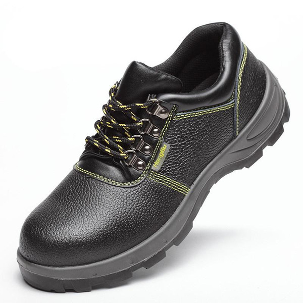 Anti-slip work shoes Wilderness Survival ankle Anti-smashing safty steel mid-plate safety shoes