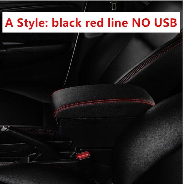 Черная красная линия