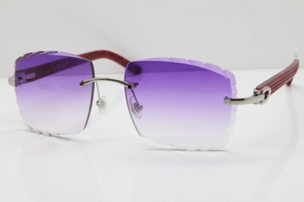 Lente argento viola