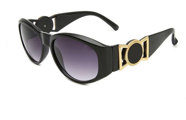 2019 Yeni lüks moda markası güneş gözlüğü kadın 424 bağbozumu yuvarlak klasik güneş gözlüğü tasarım gözlük erkekler ücretsiz nakliye güneş gözlüğü
