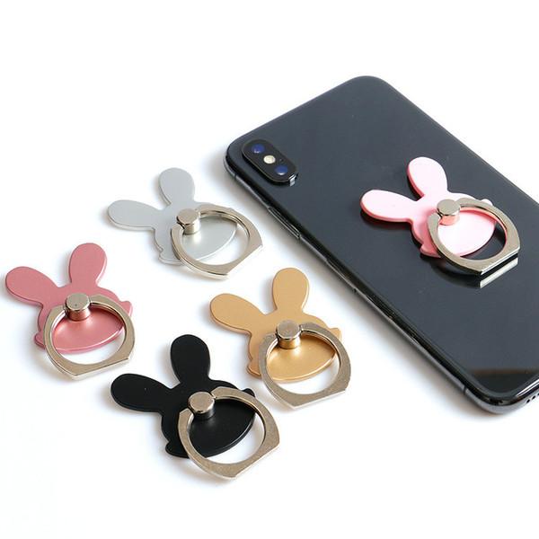 Support de doigt magnétique anneau universel pour téléphone portable Iphone 7plus 6s Plus SE Samsung S9 Plus Galaxy Note 7 8 Kickstand I Bracelet