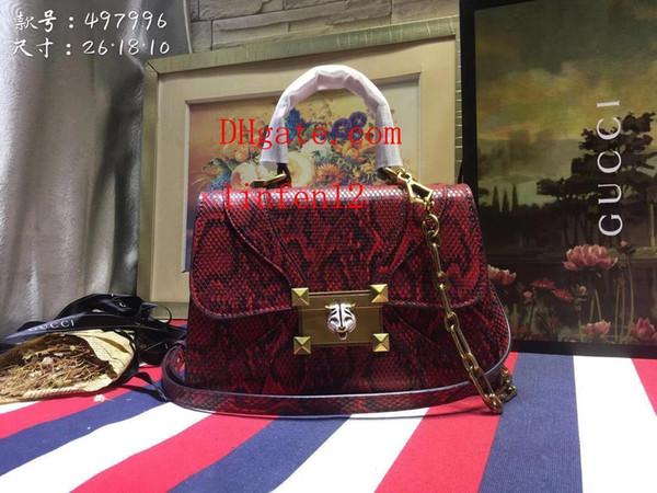 Children's Fashion Handbags Kids Mini Totes Red leather diagonal package Fashion handbag
