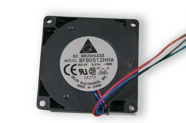 For Delta BFB0412HHA 4010 DC 12V 0.10A 4CM 3-wire Ball Bearing Super Quiet Small Blast Cooling Fan