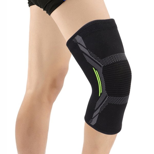 COYOCO Sport Knee Pad Support Brace 1 Pcs Green Kneepad Knee Warm Protector for Joint Pain Relief and Injury Recovery Black #18462