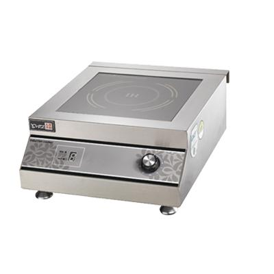 Flacher Induktionsherd für den Tisch Restauranteigener Temperaturregler HeizrohrheizungSK-DD3