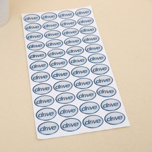 Custom oval vinyl logo adhesive sticker label sheet package color packing label sticker professional manufacturer offer printing service