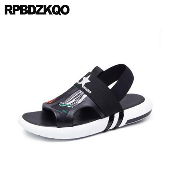Calidad Diseño Deporte Hombres Malla Agua Zapatos Lujo Zapatillas Negro Los Alta Sandalias Verano De Compre Planas wPiuTkXOZ